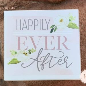 Happily Ever After Decorative Jewelry Box